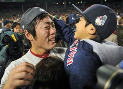 The Boston Red Sox win the 2013 World Series in Boston