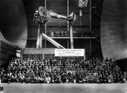 Aircraft Engineering Research Conference at Langley's Full-Scale Tunnel, 1934