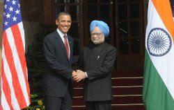 United States President Barack Obama Visits India