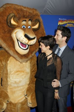 """David Schwimmer arrives for the premiere of """"Madagascar 3"""" in New York"""