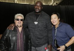 Guy Fieri, Shaquille O'Neal and Ming Tsai at Wheels Up