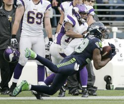 The Seattle Seahawks beat the Minnesota Vikings 30-20 in Seattle.
