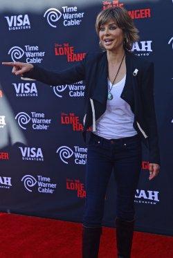 The Lone Ranger Premieres at the Disney California Adventure in Anaheim, California