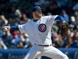 Cubs Pitcher Dempster Delivers against Brewers in Chicago
