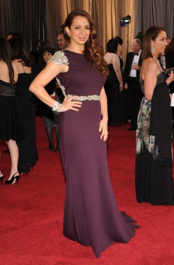 Actress Maya Rudolph arrives for the 84th Academy Awards in Los Angeles