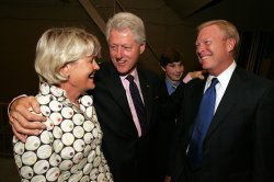 FORMER PRESIDENT BILL CLINTON MAKES APPEARANCE FOR SENATE CANDIDATE CLAIRE MCCASKILL