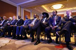 Africa Leaders Summit Continues In Washington DC