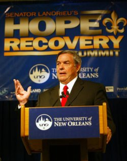 SEN. MARY LANDRIEU'S HOPE AND RECOVERY P0ST-KATRINA SUMMIT IN NEW ORLEANS