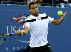 Novak Djokovic takes on Mikhail Youzhny in quarterfinals match at the U.S. Open in New York