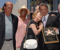 SOAP STAR ERIC BRAEDEN RECEIVES STAR ON HOLLYWOOD WALK OF FAME IN LOS ANGELES