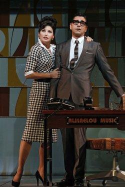 """John Stamos performs in Broadway production of """"Bye Bye Birdie"""" in New York"""