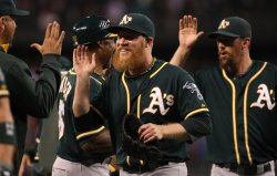 Oakland Athletics beat the Seattle Mariners 3-2 in Seattle.