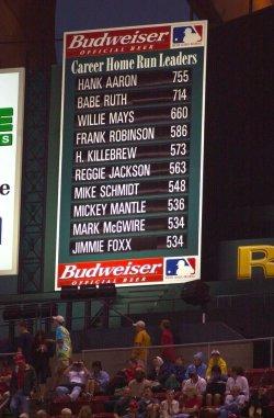 McGwire home runs