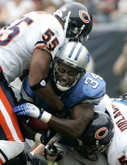 DETROIT LIONS VS CHICAGO BEARS FOOTBALL