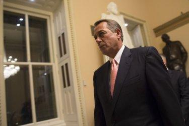 Speaker of the House John Boehner in Washington