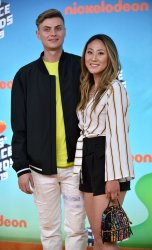 Lizzy and Carter Sharer attend Kids' Choice Awards 2019