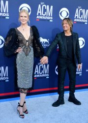 Nicole Kidman and Keith Urban attend the Academy of Country Music Awards in Las Vegas