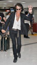 Johnny Depp arrivals in Tokyo