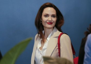 Angelina Jolie at United Nations Headquarters in New York