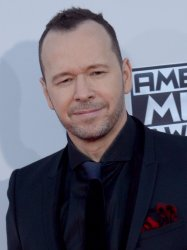 Donnie Wahlberg attends the 43rd annual American Music Awards in Los Angeles