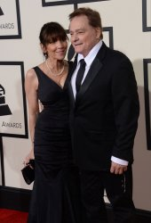 Marty Balin arrives for the 58th annual Grammy Awards in Los Angeles