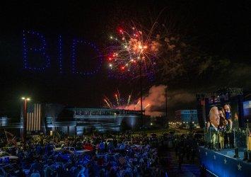Fireworks Display at President-elect Biden's Victory Celebration