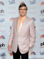 Mo Rocca arrives at the 2013 Miss USA competition in Las Vegas
