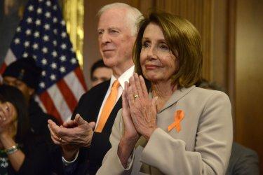 Speaker Pelosi attends gun safety legislation event in Washington