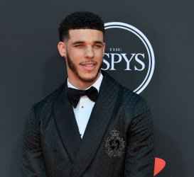 Lonzo Ball attends the 27th annual ESPY Awards in Los Angeles
