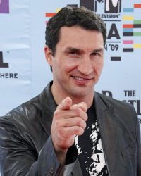 Wladimir Klitschko arrives at the MTV Europe Music Awards