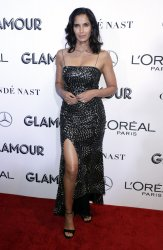 Padma Lakshmi arrives to the 2018 Glamour Women of the Year Awards