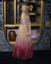 """Tamzin Merchant attends the """"Carnival Row"""" premiere in Los Angeles"""