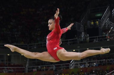 USA's Hernandez wins Silver in beam at the 2016 Rio Olympics
