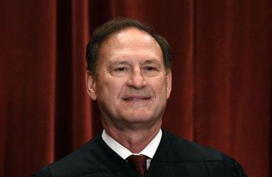 Associate Justice Samuel Alito Jr. at the Supreme Court Photo Event