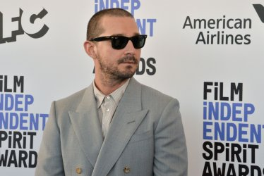 Shia LaBeouf attends the Film Independent Spirit Awards in Santa Monica