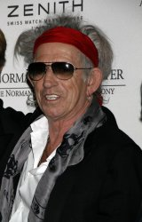 Keith Richards arrives for the Norman Mailer Center's Third Annual Benefit Gala in New York