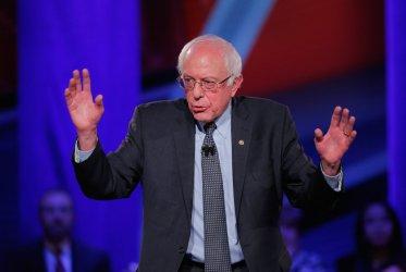 Democratic Presidential Candidate Bernie Sanders Participates In Town Hall Meeting In Iowa