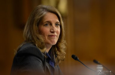 Sylvia Burwell testifies at her nomination hearing for Secretary of HHS