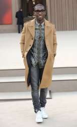 Burberry Prorsum Womenswear catwalk show in London.