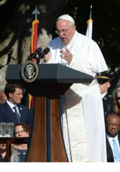 Pope Francis is Welcomed to the White House