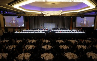 Donald Trump at Economic Club of New York Luncheon