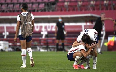 USA vs Canada Women's soccer semi-final at the Tokyo Olympics