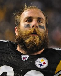 Pittsburgh Steelers Brett Keisel watches replay of sack in Pittsburgh