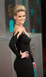 Alice Eve arrives at the Baftas Awards Ceremony