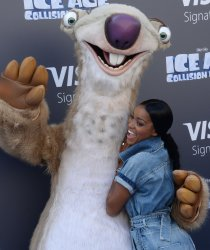 """Keke Palmer attends the """"Ice Age: Collision Course"""" premiere in Los Angeles"""