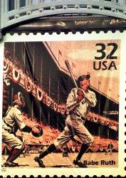 Babe Ruth stamp unveiled at Yankee Stadium