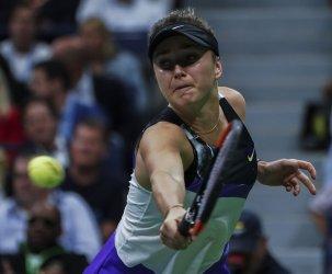 Elina Svitolina, of Ukraine, at the US Open