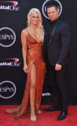 Maryse Ouellet and Michael Mizanin (aka The Miz) attend the 25th ESPYS in Los Angeles