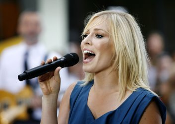 Natasha Bedingfield Performs on the NBC Today Show in New York
