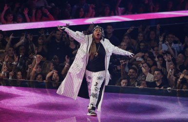 Queen Latifah at the MTV Video Music Awards